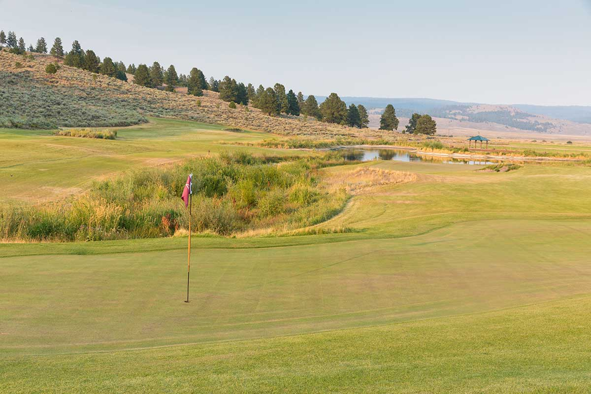 Chief Egan 9-Hole Course at The Retreat and Links at Silvies Valley Ranch